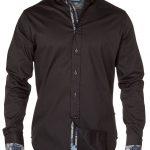 D555 Frazer Long Sleeve Shirt – Black