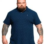 North 564 North Short Sleeve Polo Shirt in Navy Blue