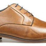 POD Regus Shoes in Cognac Brown|UK14