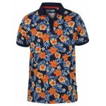 D555 Hawaiian Short Sleeve Polo Shirt