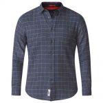 D555 Taylor Button Down Shirt – Charcoal Grey