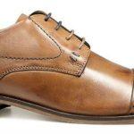 POD Vermont Shoes in Cognac Brown|UK15