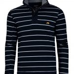 Raging Bull Sweater in Navy Blue stripe
