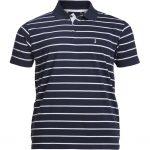 North 56°4 Striped Polo Shirt – Navy Blue