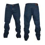 Kam Forge Straight Leg Jeans – Indigo