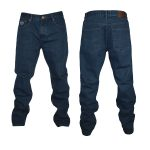Kam Forge Comfort Jeans– Indigo – 56″ Waist 27″ Leg