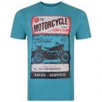Kam Teal Motorcycle Legend T-Shirt – Green
