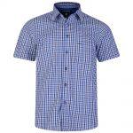 Kam Gingham Short Sleeve Shirt – Blue