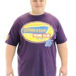 KAM Denim Star T-Shirt – Purple
