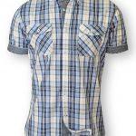 D555 Fidel Twin Pocket Check Shirt