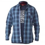 D555 Smith Check Shirt & T-Shirt Combo