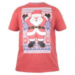 D555 Snowflake T-Shirt – Red