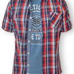 D555 Tall Malcolm T-Shirt & Shirt Combo – Red LT