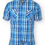 D555 Emanuel Tall Mens Check Shirt