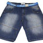 Kangol Punk Demin shorts – Stonewash