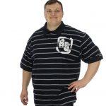 Kam 85 Pin Stripe Polo Shirt – 2XL
