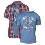 D555 Malcolm T-Shirt & Shirt Combo