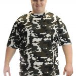 Duke Rarden London Premium Camouflage Print T-shirt