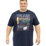 D555 Jordan The Surf T-Shirt – Navy
