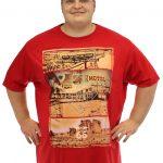 Louie James California Dreams T-Shirt – Red