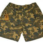 Espionage Camo Cargo Shorts
