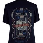 Espionage Jack Print T-Shirt – Navy